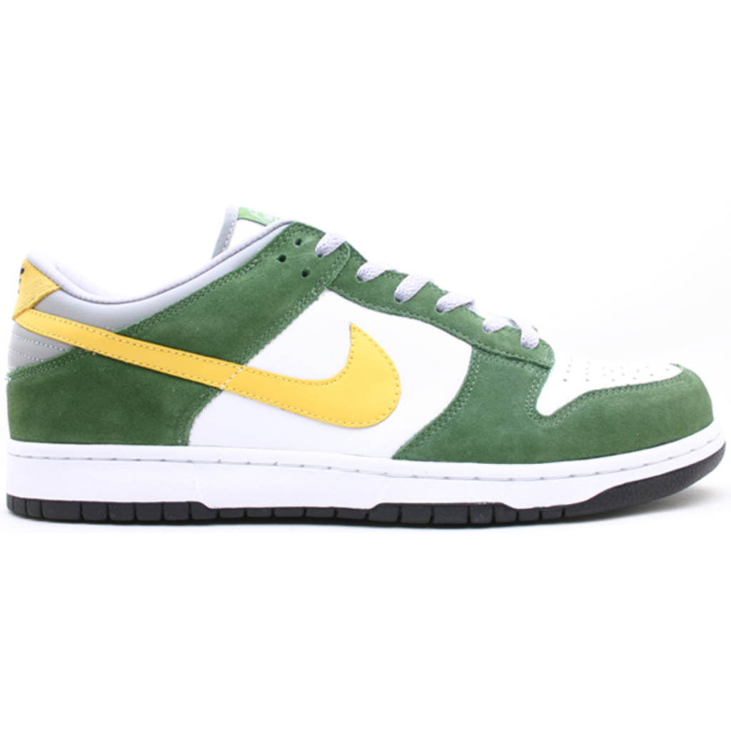 Dunk Low 6.0 White Dijon Tree Line