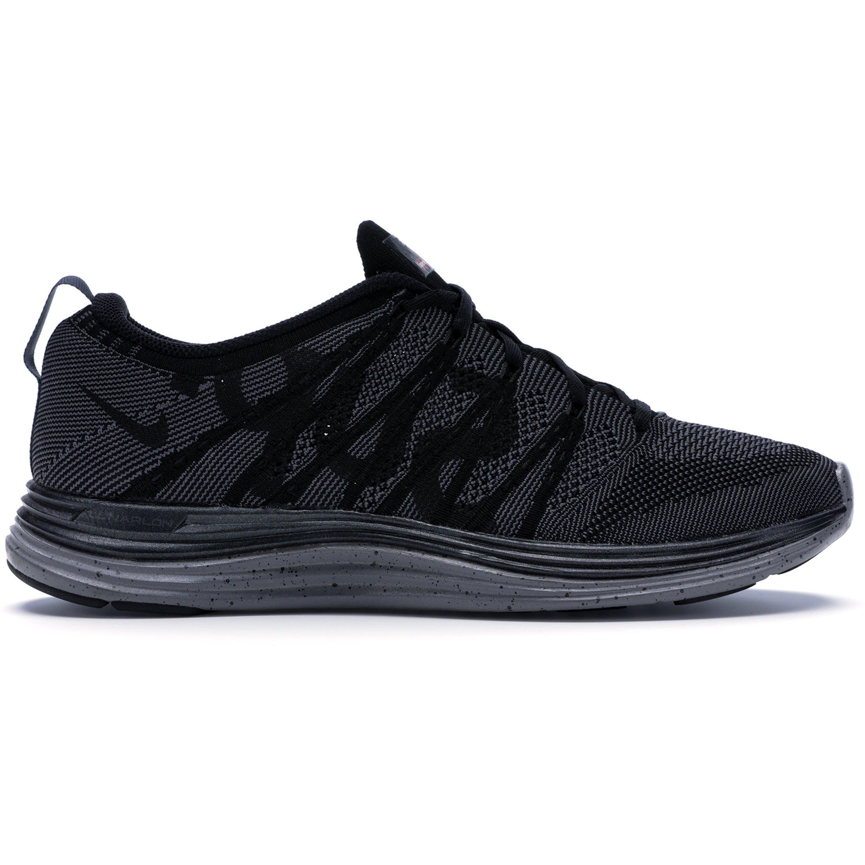 Nike Flyknit Lunar1+ Supreme Black (623823-001)