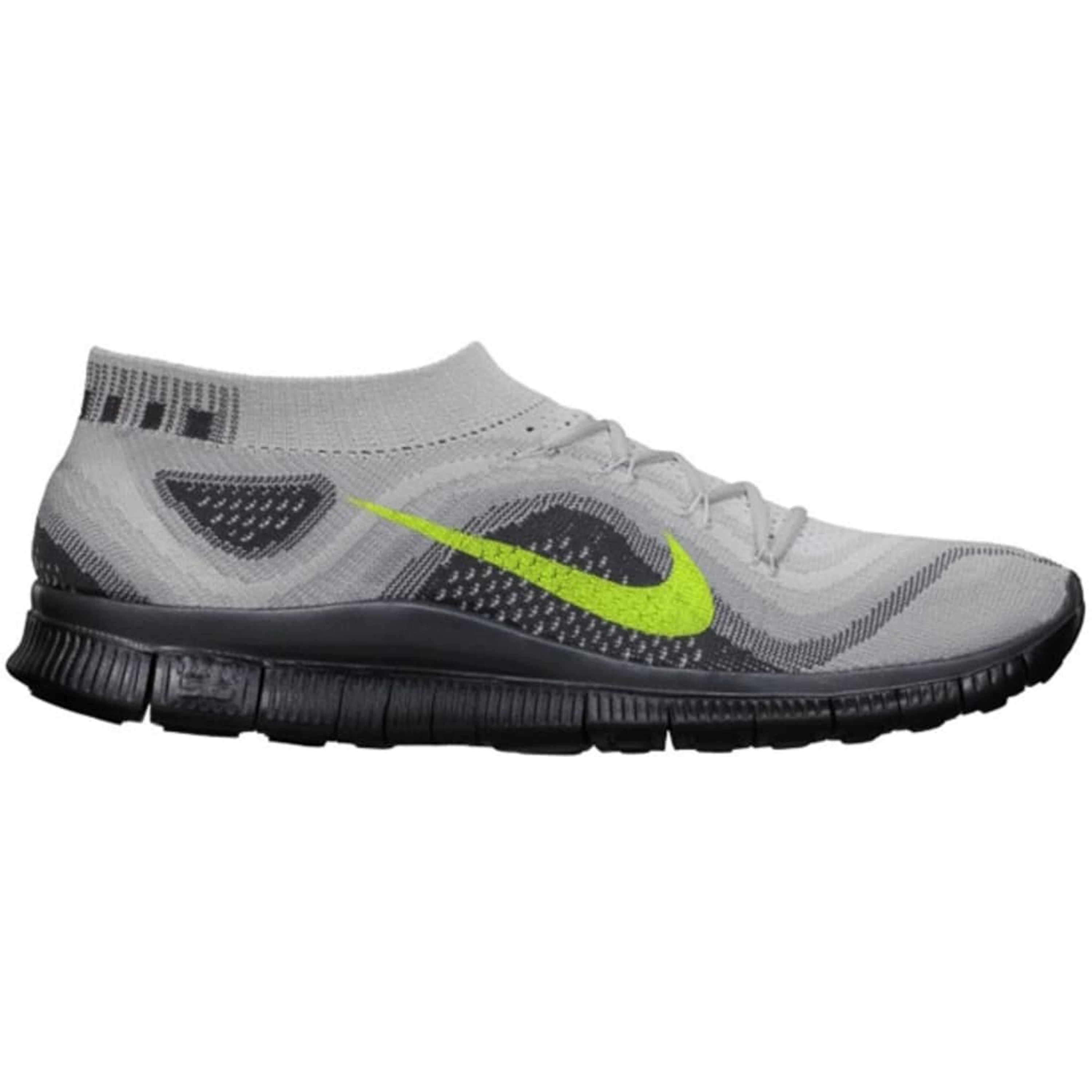 Nike Free Flyknit Pure Platinum Volt (615805-070)
