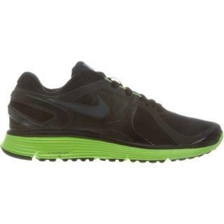 Nike Lunareclipse+2 Shield Black/Dark Grey-Electric Green
