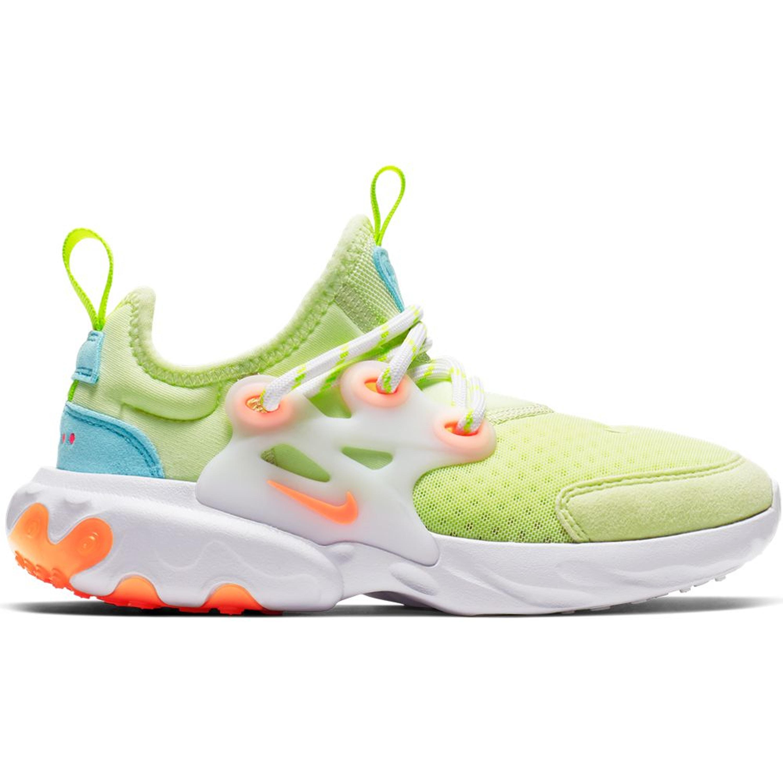 Nike React Presto Barely Volt (PS) (BQ4003-700)