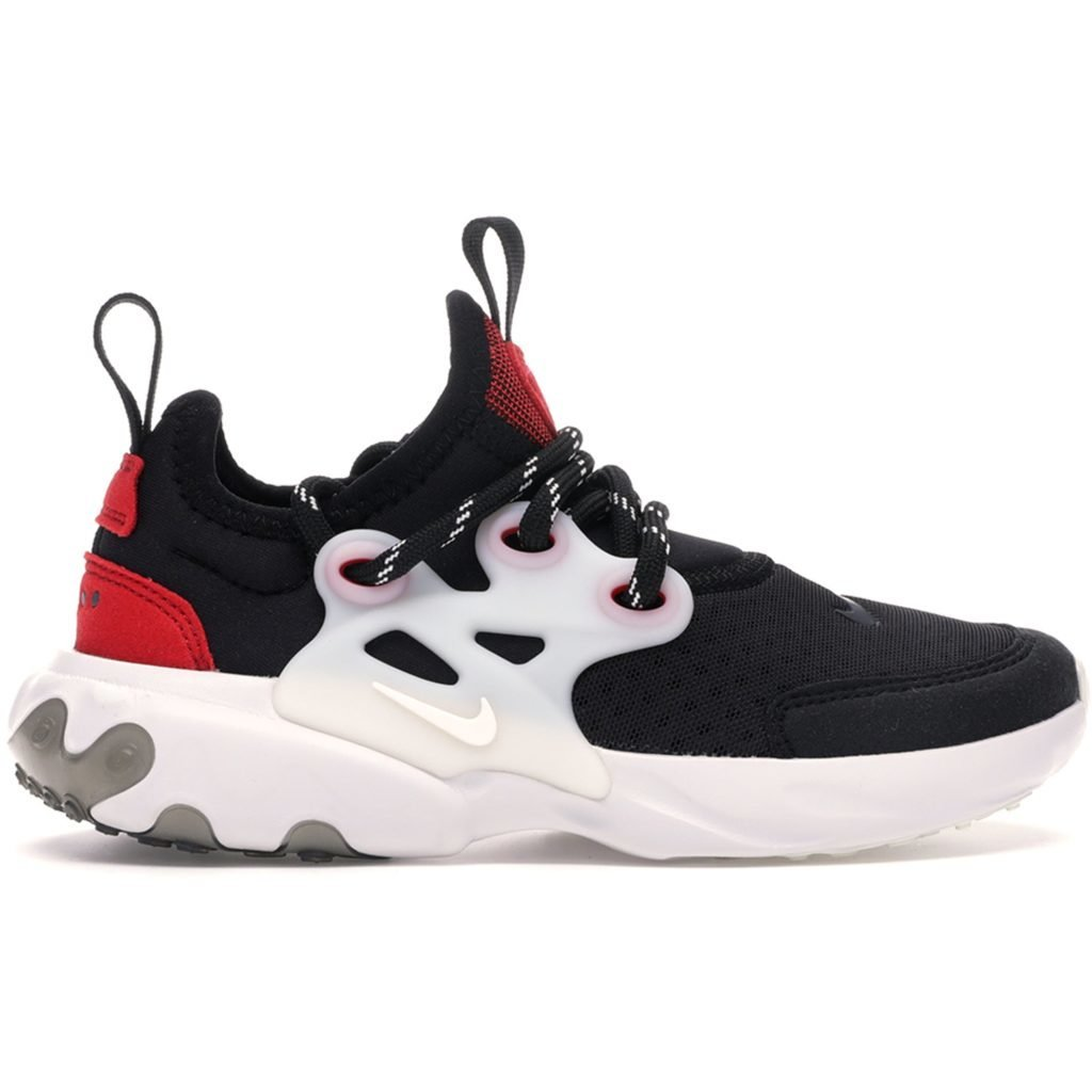 Nike React Presto Black Phantom Red (PS)