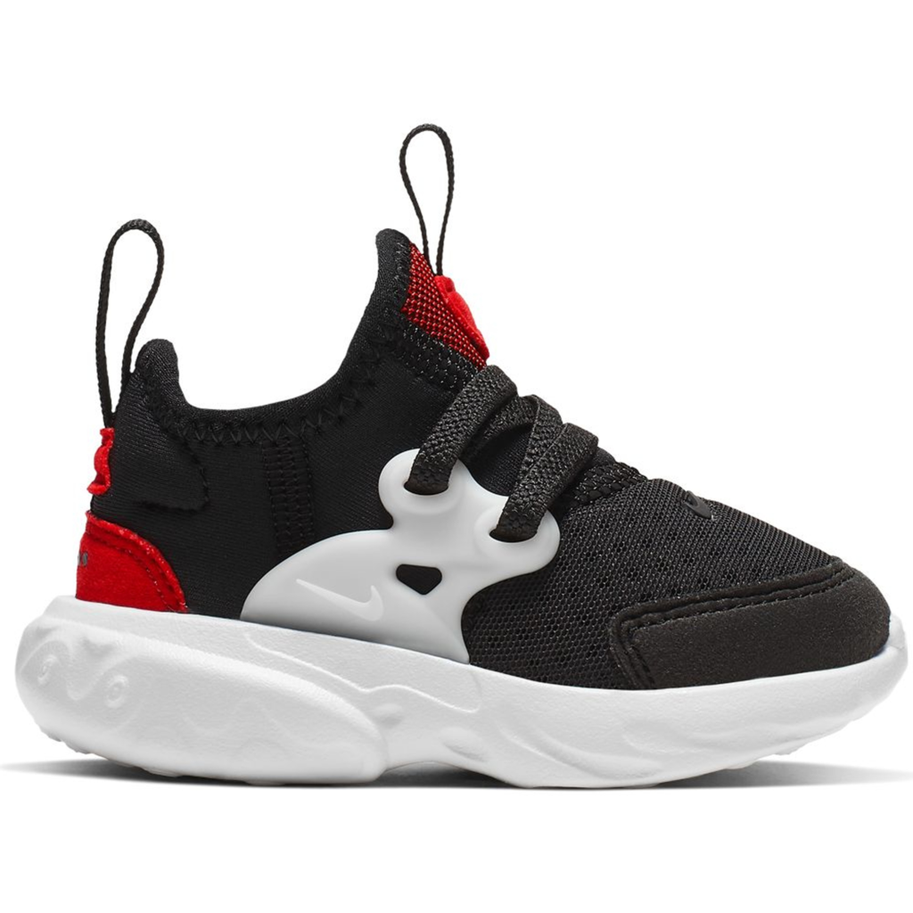 Nike React Presto Black Phantom Red (TD)