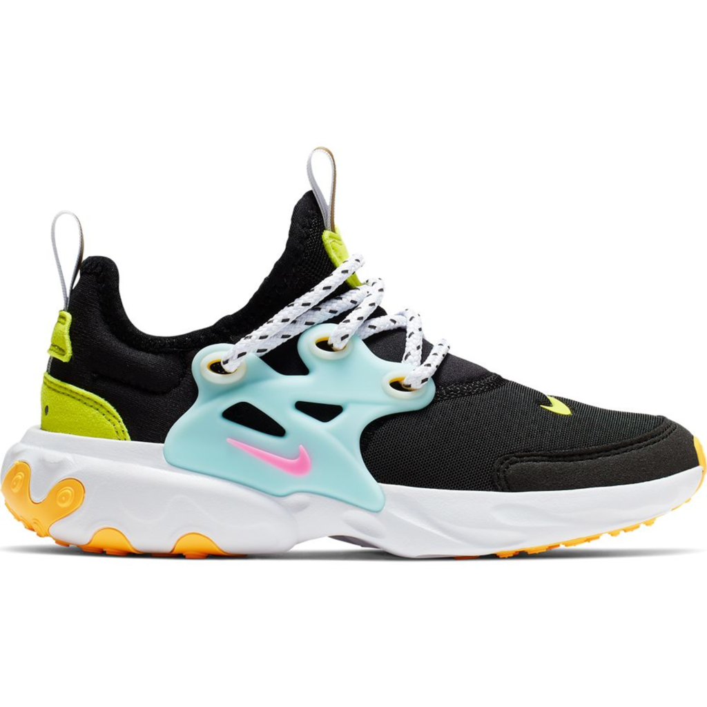 Nike React Presto Black Teal Tint Cyber (PS)