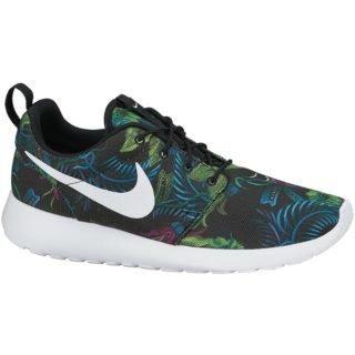 Nike Roshe Run Floral Print Fuchsia Flash