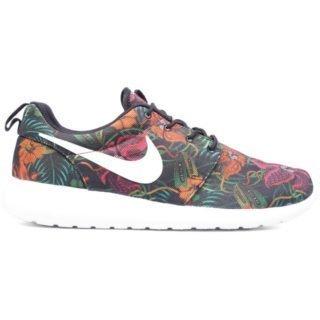 Nike Roshe Run Floral Print Total Orange
