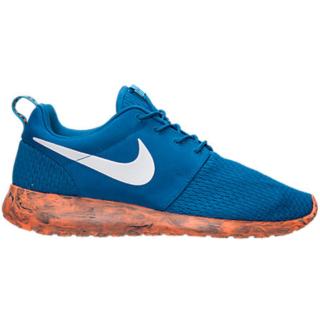 Nike Roshe Run Marble Military Blue Orange