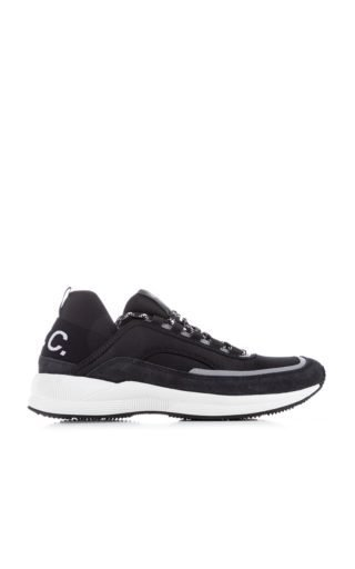A.P.C. Run Around Sneakers Anthracite