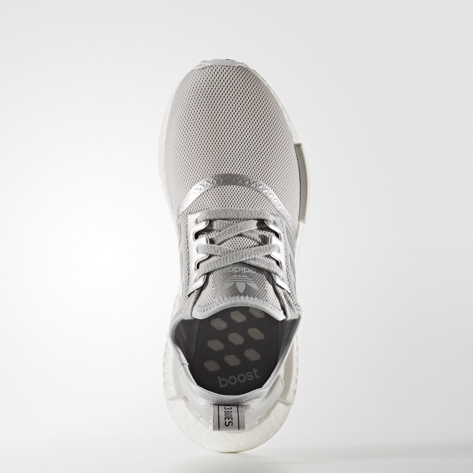 adidas NMD R1 Silver Metal (W) (S76004)