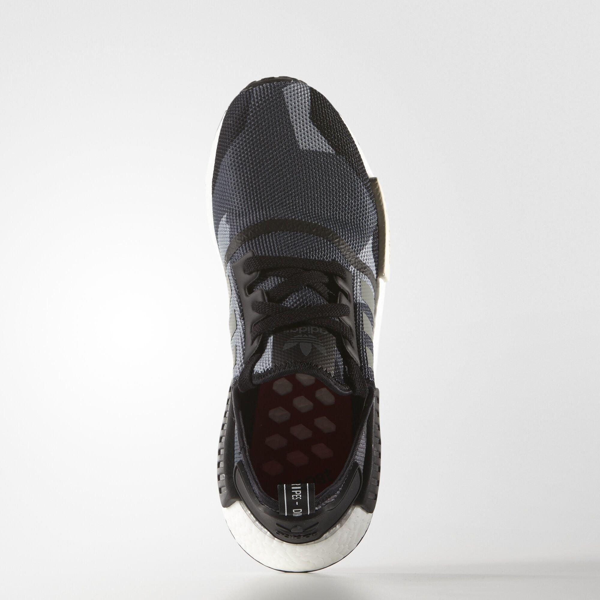 adidas NMD R1 Geometric Black Camo (S79163)