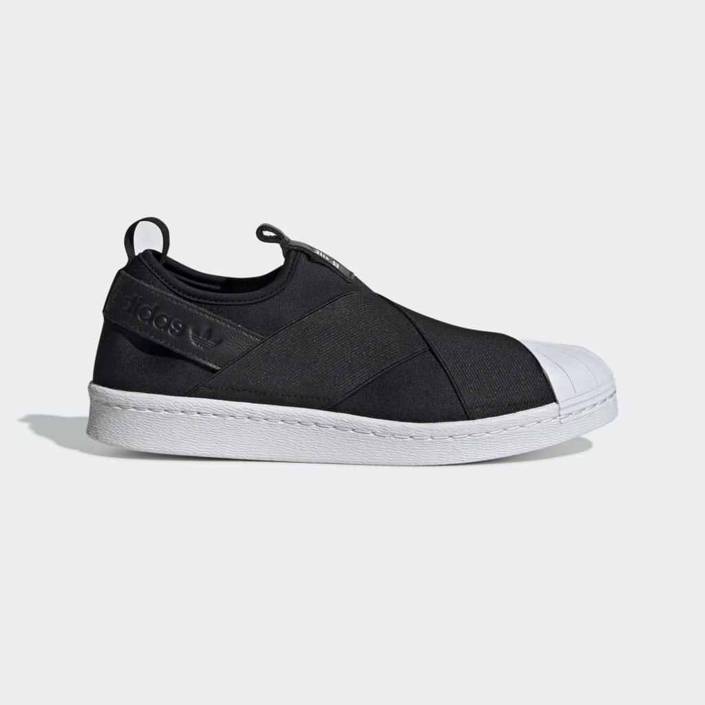 adidas Superstar Slip-On Core Black Cloud White (W)