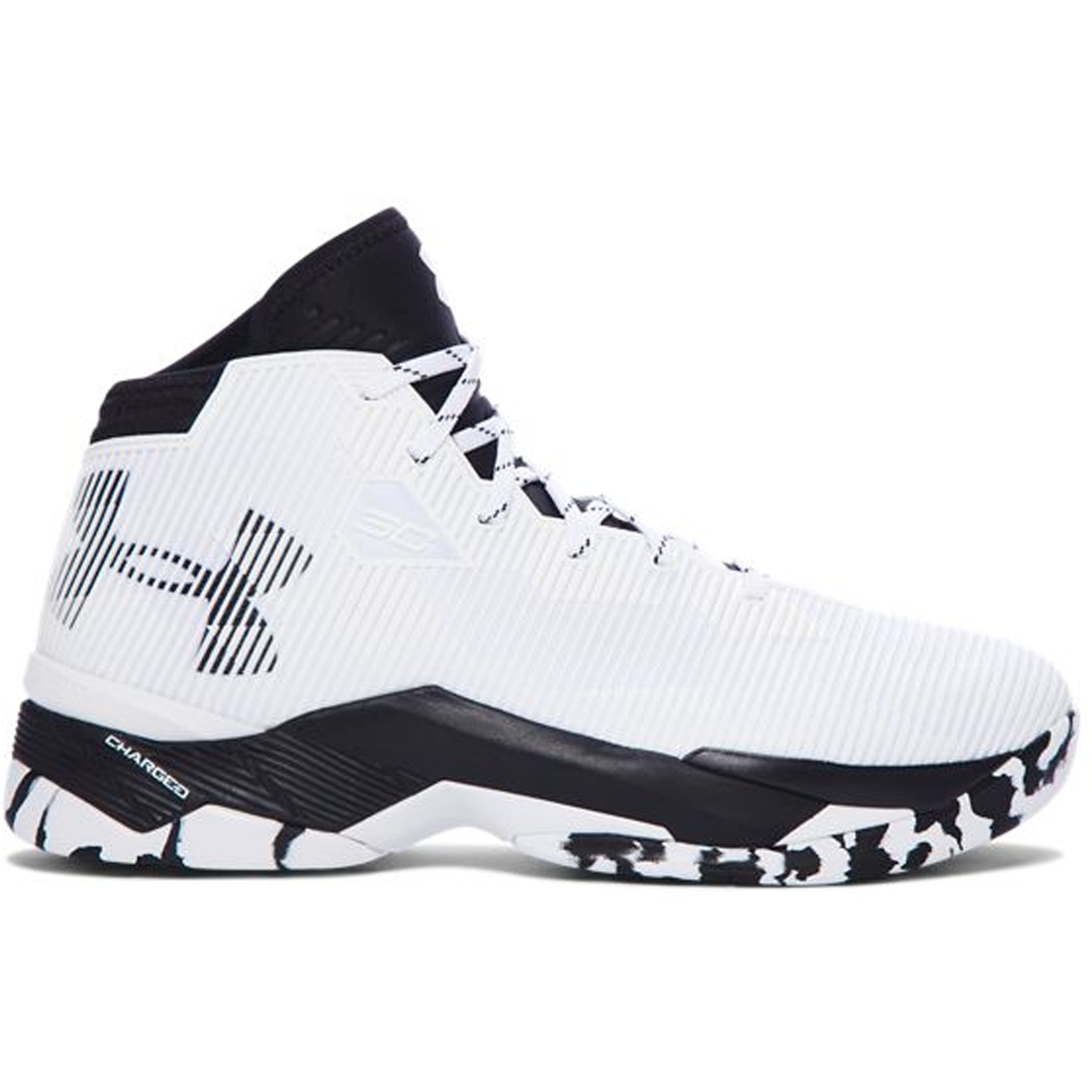 Under Armour Curry 2.5 White Black (1274425-104)