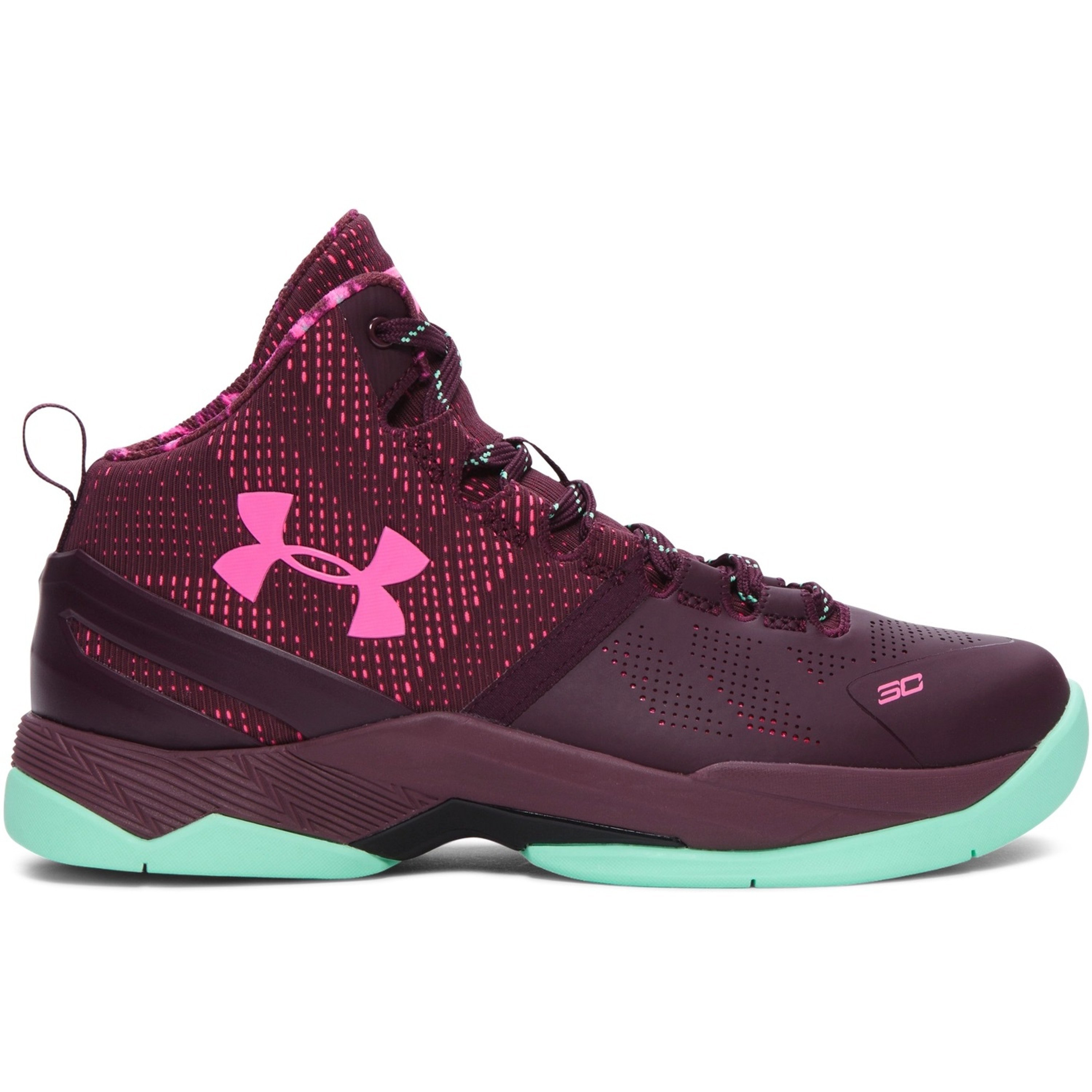 Under Armour Curry 2 Black History Month (GS) (1270817-601)
