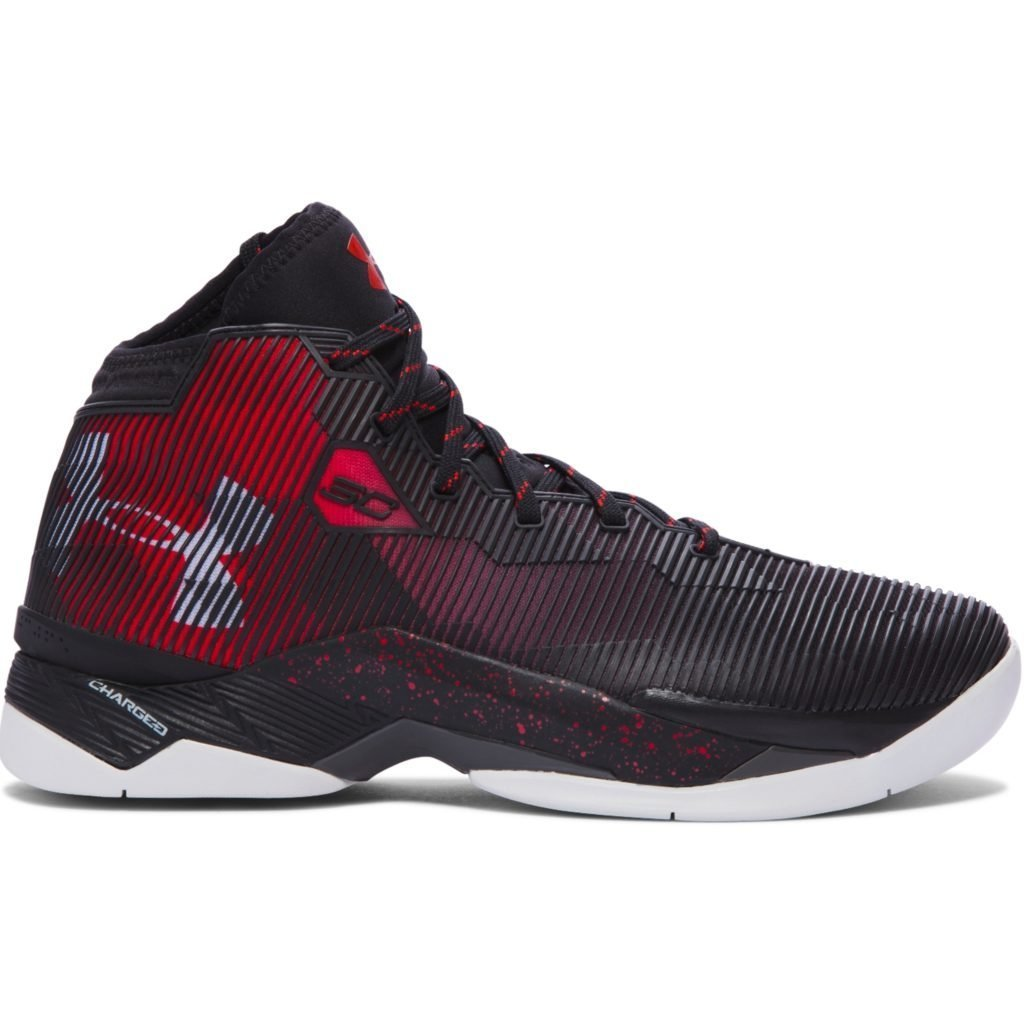 UA Curry 2.5 Red Black