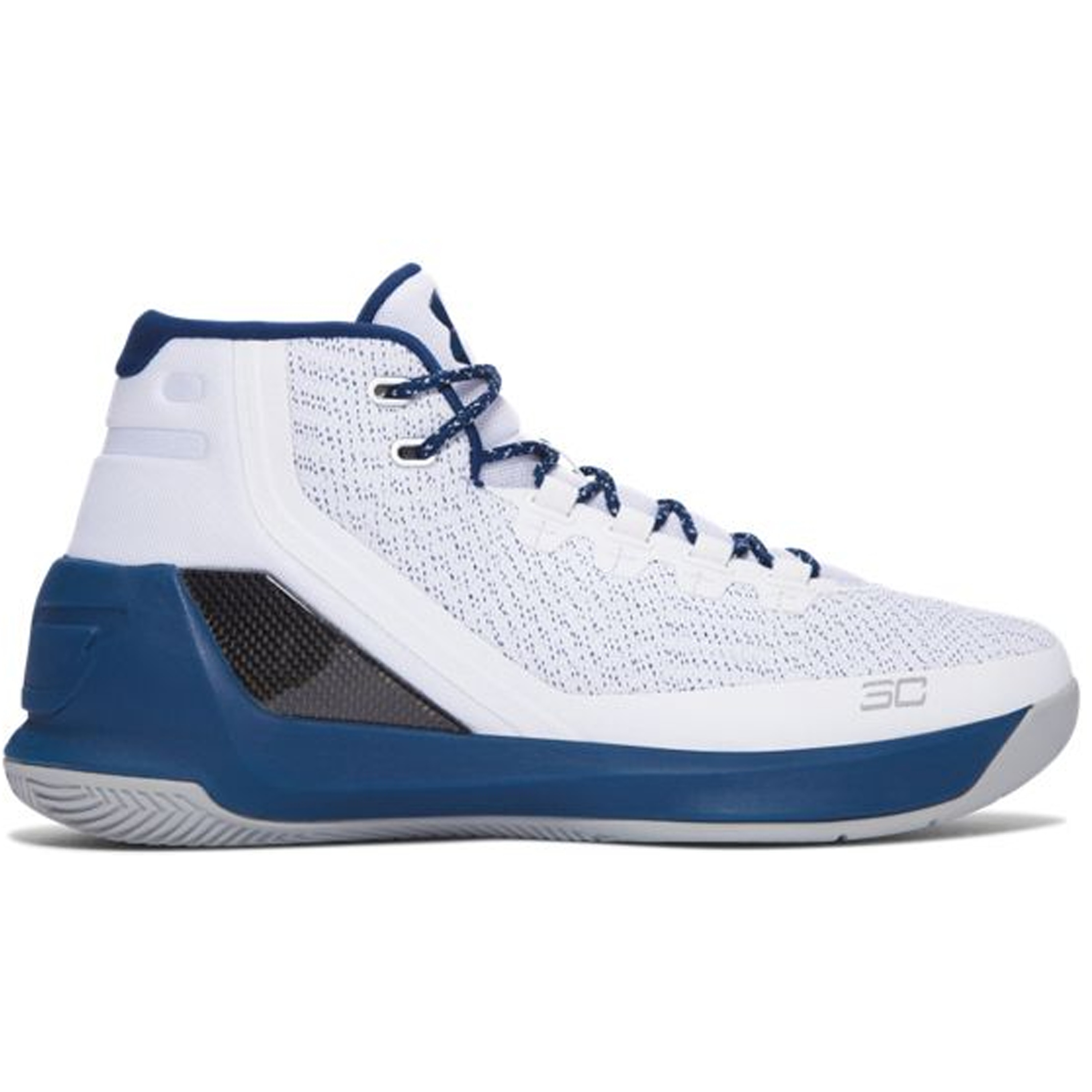 Under Armour Curry 3 White Blackout Navy (1269279-105)