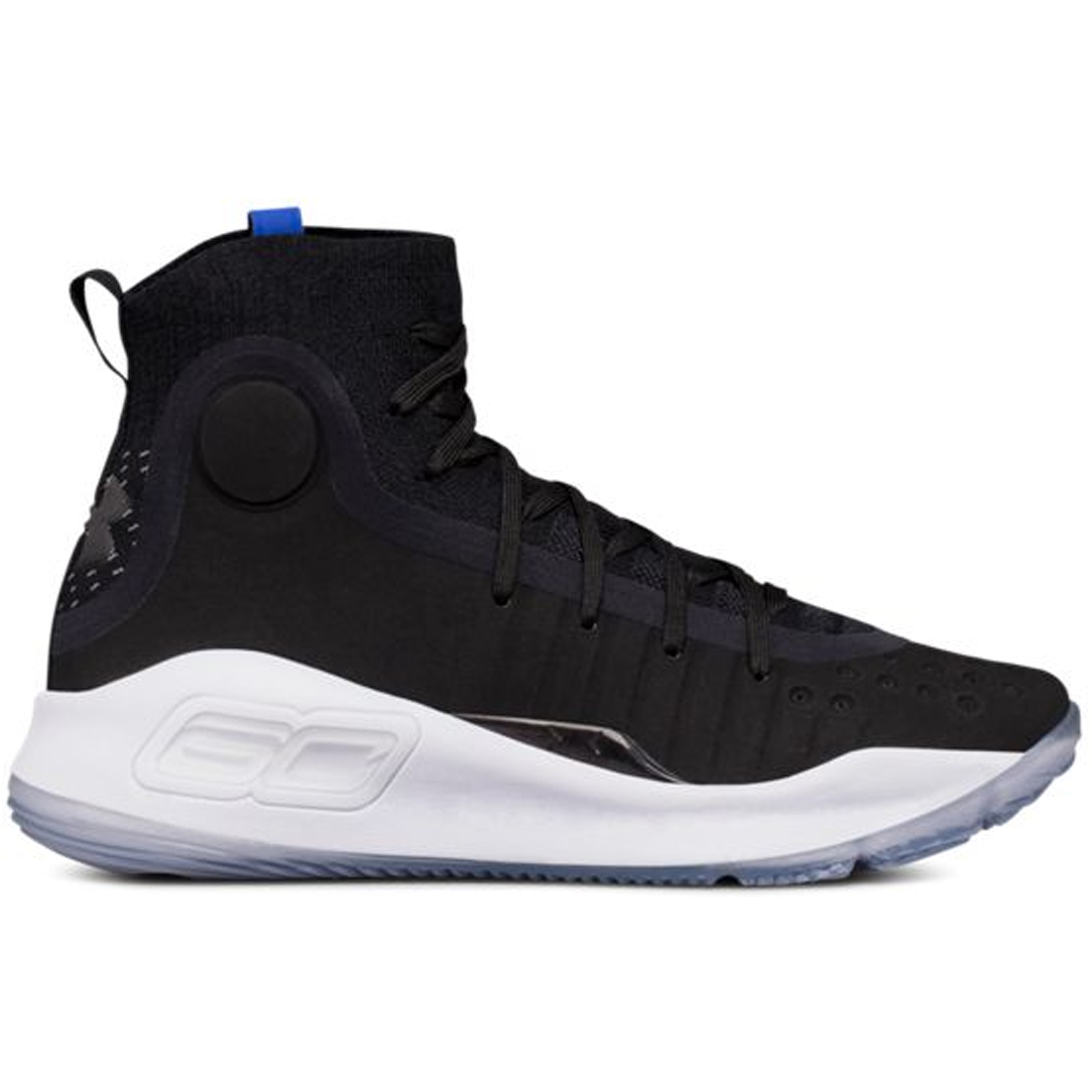 Under Armour Curry 4 Black White (GS) (1295995-005)