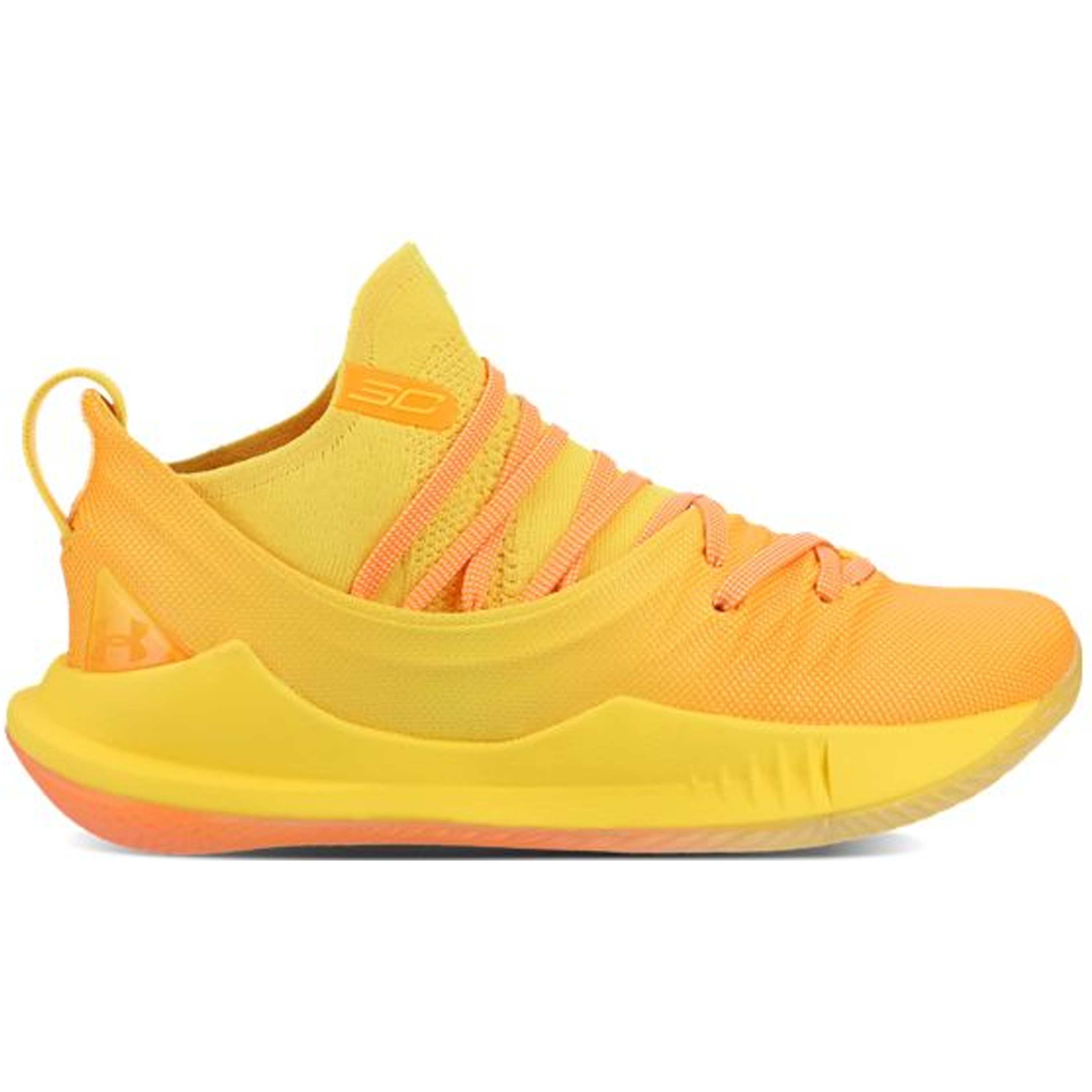 Under Armour Curry 5 Yellow Orange (3021708-700)