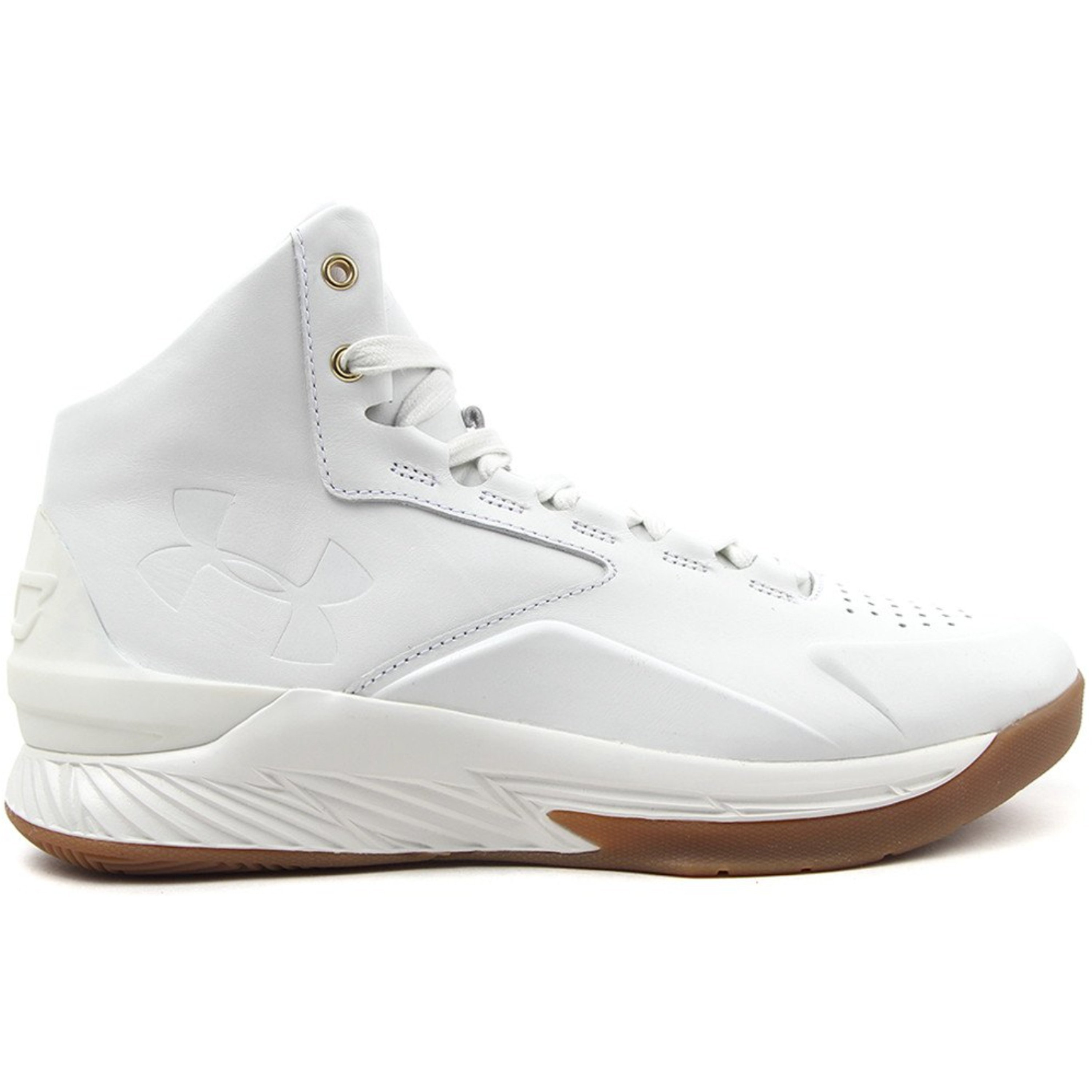 Under Armour UA Curry 1 Lux White Gum (1298700-100)