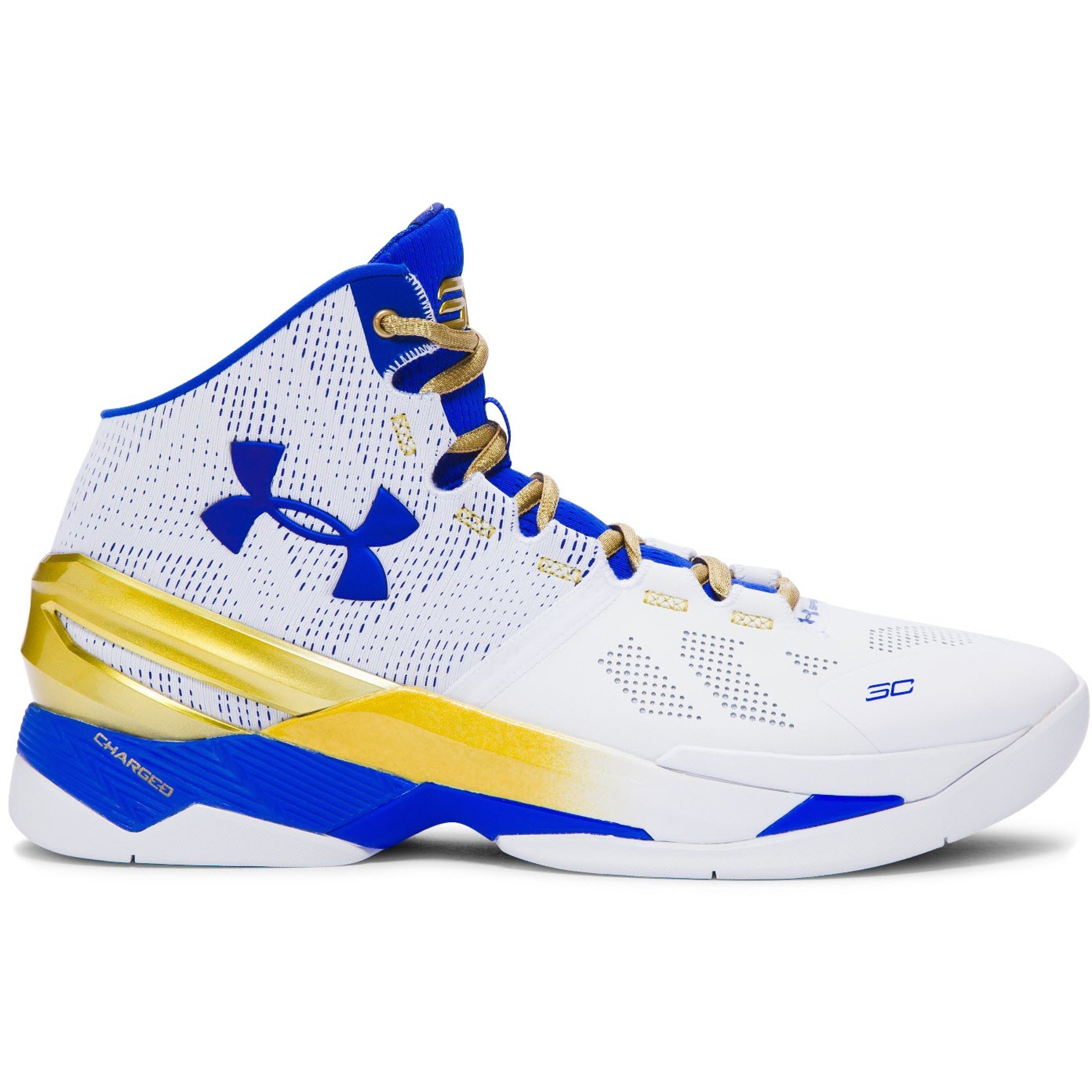 Under Armour UA Curry 2 Gold Rings (1259007-107)