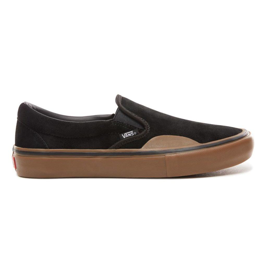 Vans Slip-On Rubber Black Gum