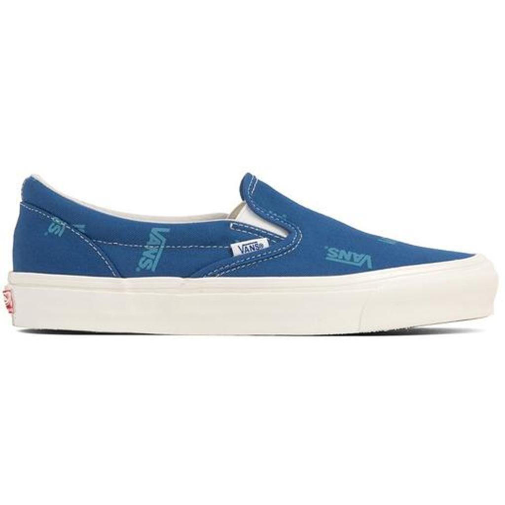 Vans Slip-On Multi-Logo Blue