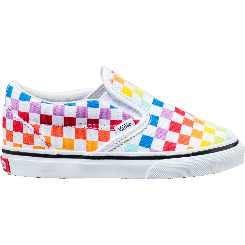 Vans Slip On Rainbow Checkerboard (TD)