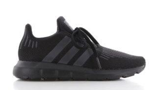 Adidas adidas Swift Run Zwart/Zwart Kinderen