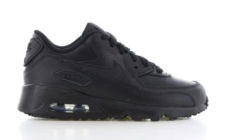 Nike Air Max 90 Leather PS Zwart/Zwart Kinderen