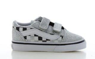Vans Old Skool Glitter/Checkerboard Peuters