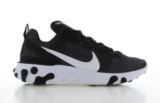 Nike React Element 55 Zwart Heren