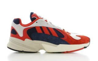 Adidas adidas Yung-1 Wit/Rood Heren