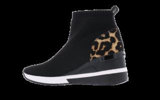 Skyler Black Leopard Zwart
