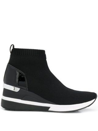 Michael Michael Kors Skyler high top sneakers - Zwart