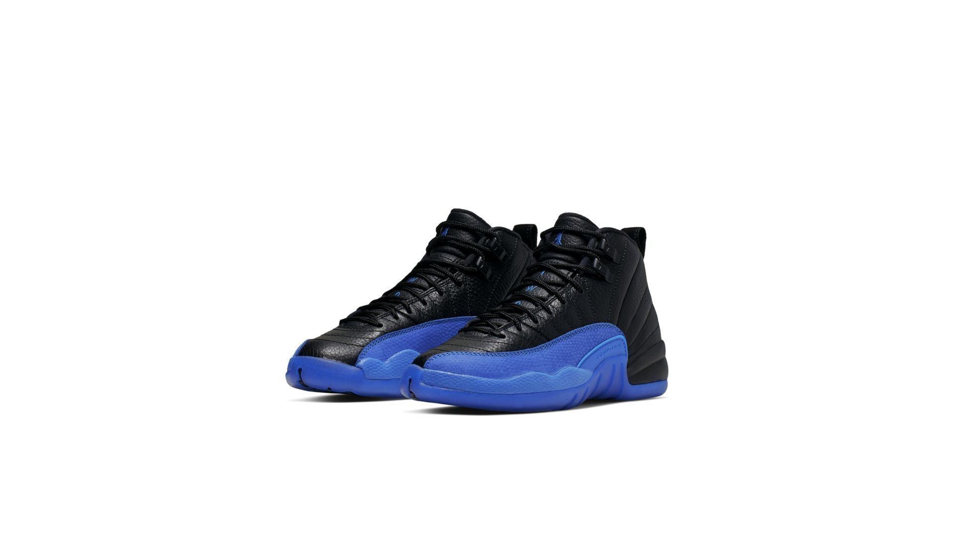 Jordan 12 Retro Black Game Royal (GS) (153265-014)