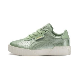 Cali Emboss Kid Girls' Trainers (Groen)