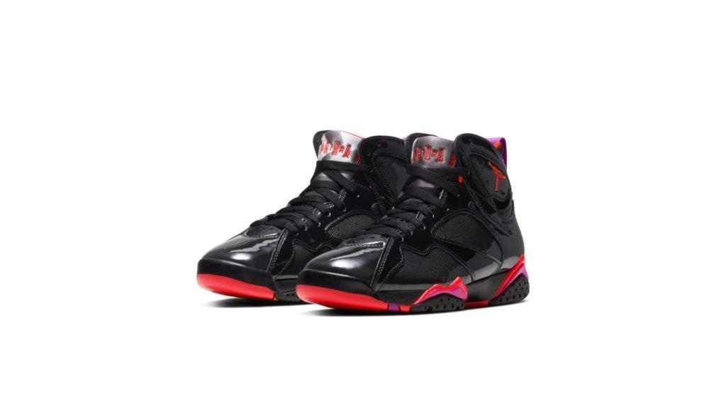 Jordan 7 Retro Black Patent (W)