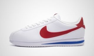 Cortez Basic (Wit/Rood) Sneaker