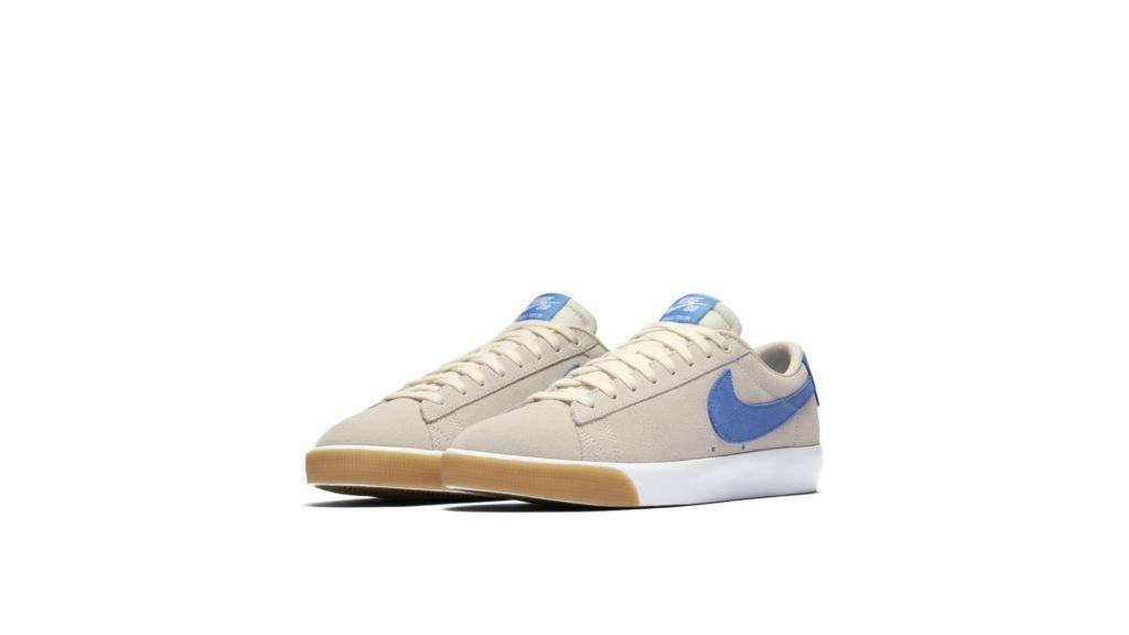 Nike SB Blazer Low Pale Ivory Pacific Blue