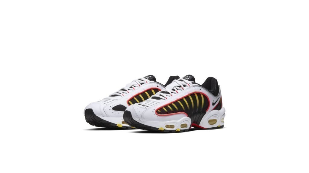 Air Max Tailwind 4 White Black Crimson Yellow