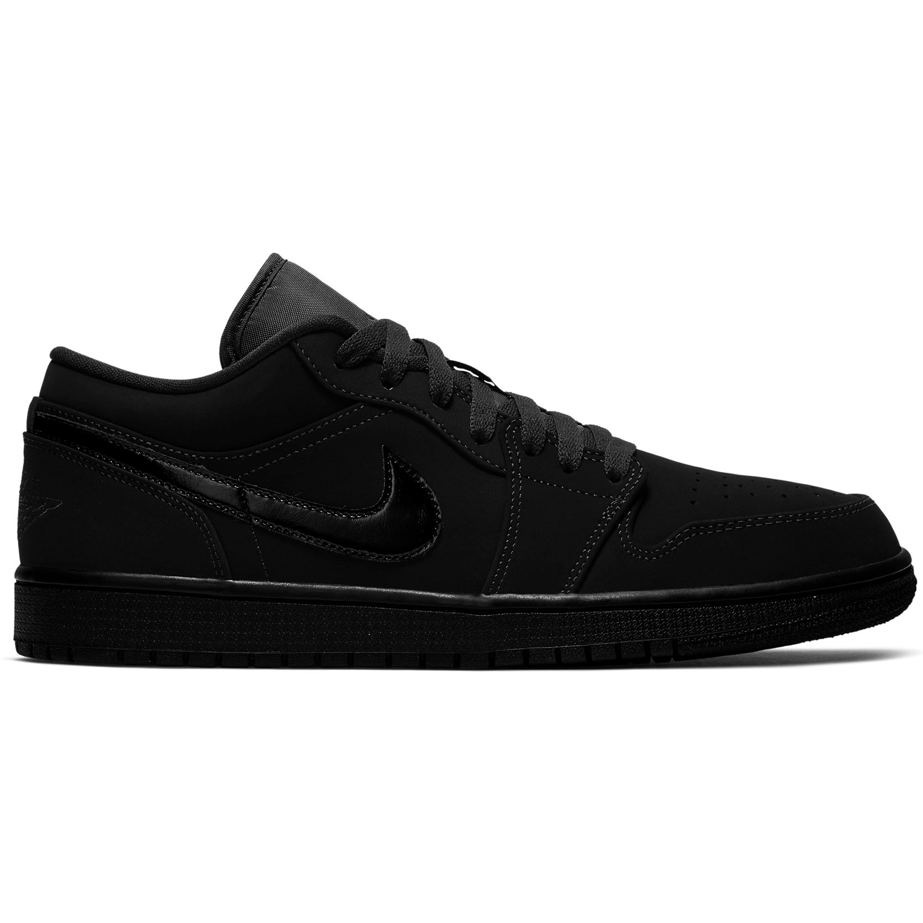 Jordan 1 Low Triple Black (2019) (553558-056)