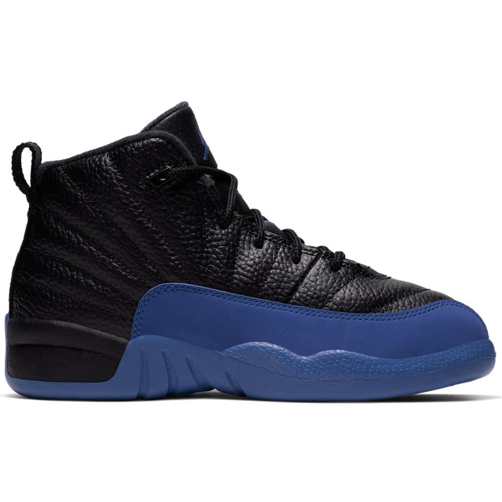 Jordan 12 Retro Black Game Royal (PS)