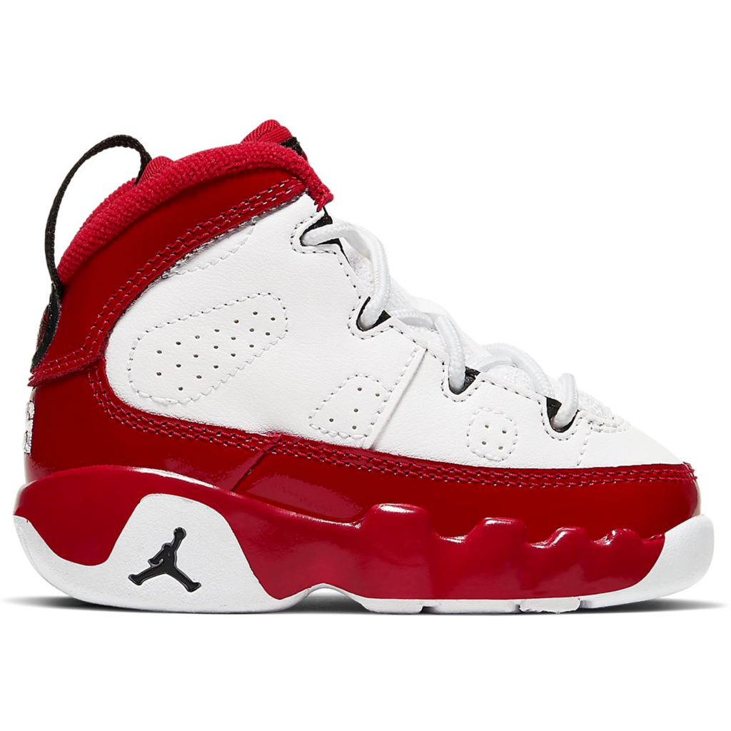 Jordan 9 Retro White Gym Red (TD)