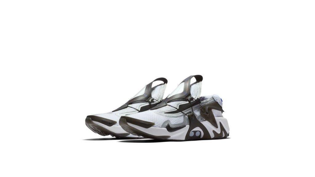 Nike Adapt Huarache White Black