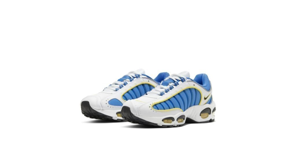 Air Max Tailwind 4 White Blue Yellow