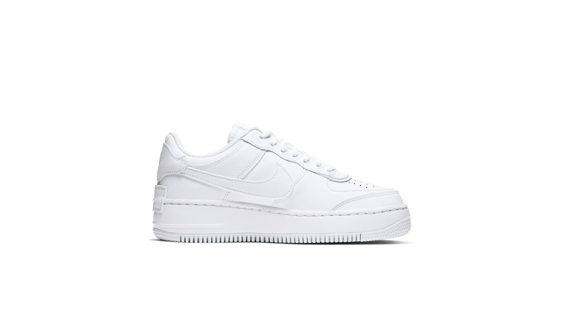 Nike Air Force 1 Shadow Triple White (W) (CI0919-100)