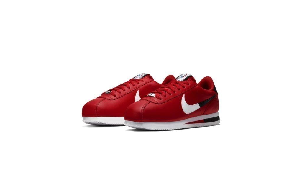 Nike Cortez Basic NBA University Red
