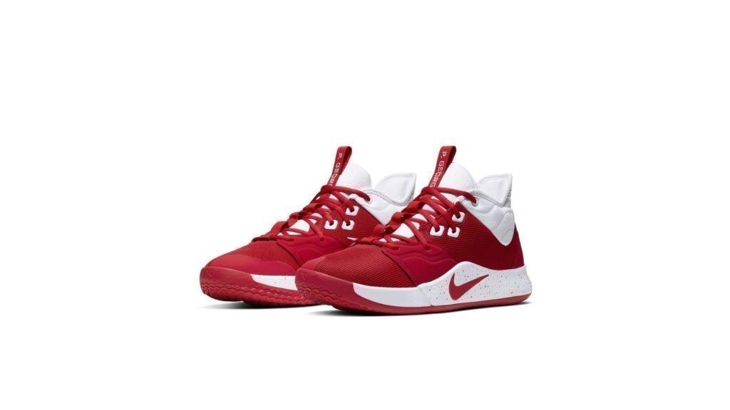 Nike PG 3 Team University Red White