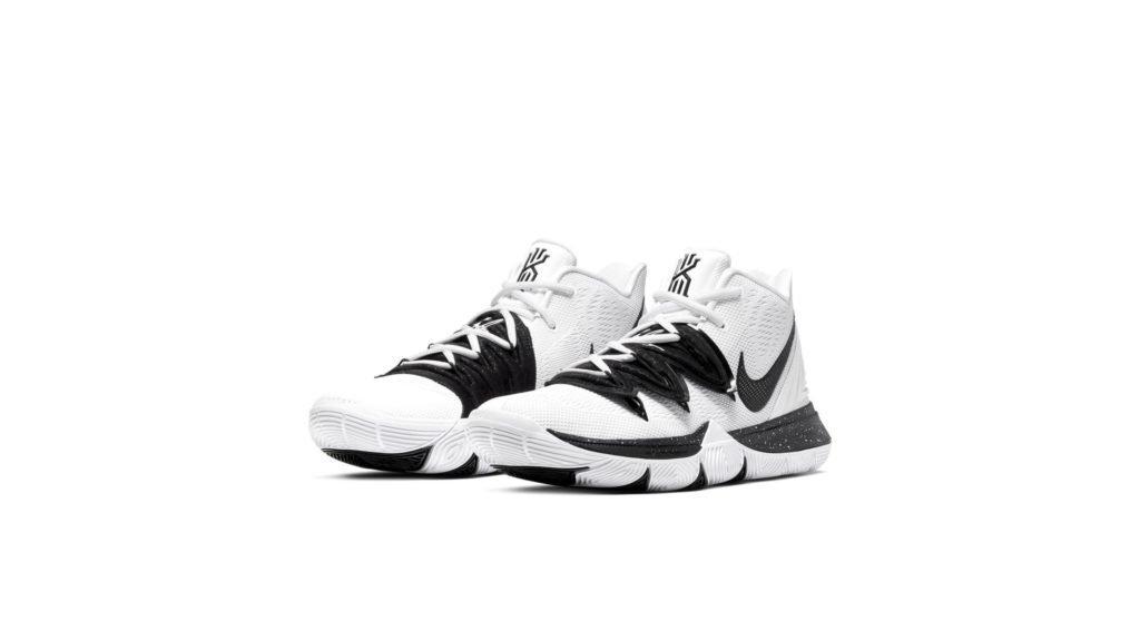 Kyrie 5 Team White Black
