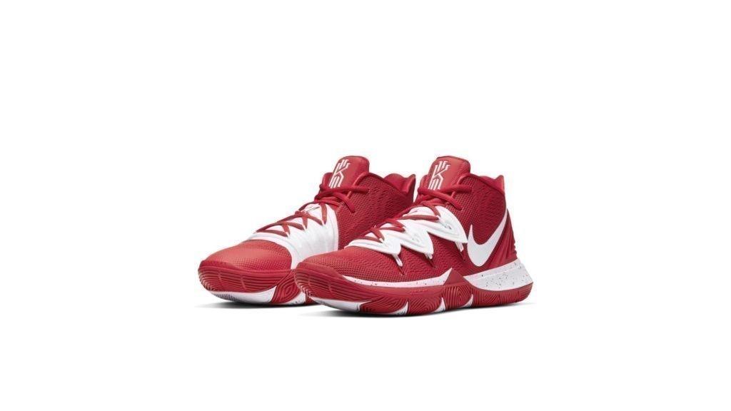 Kyrie 5 Team University Red White