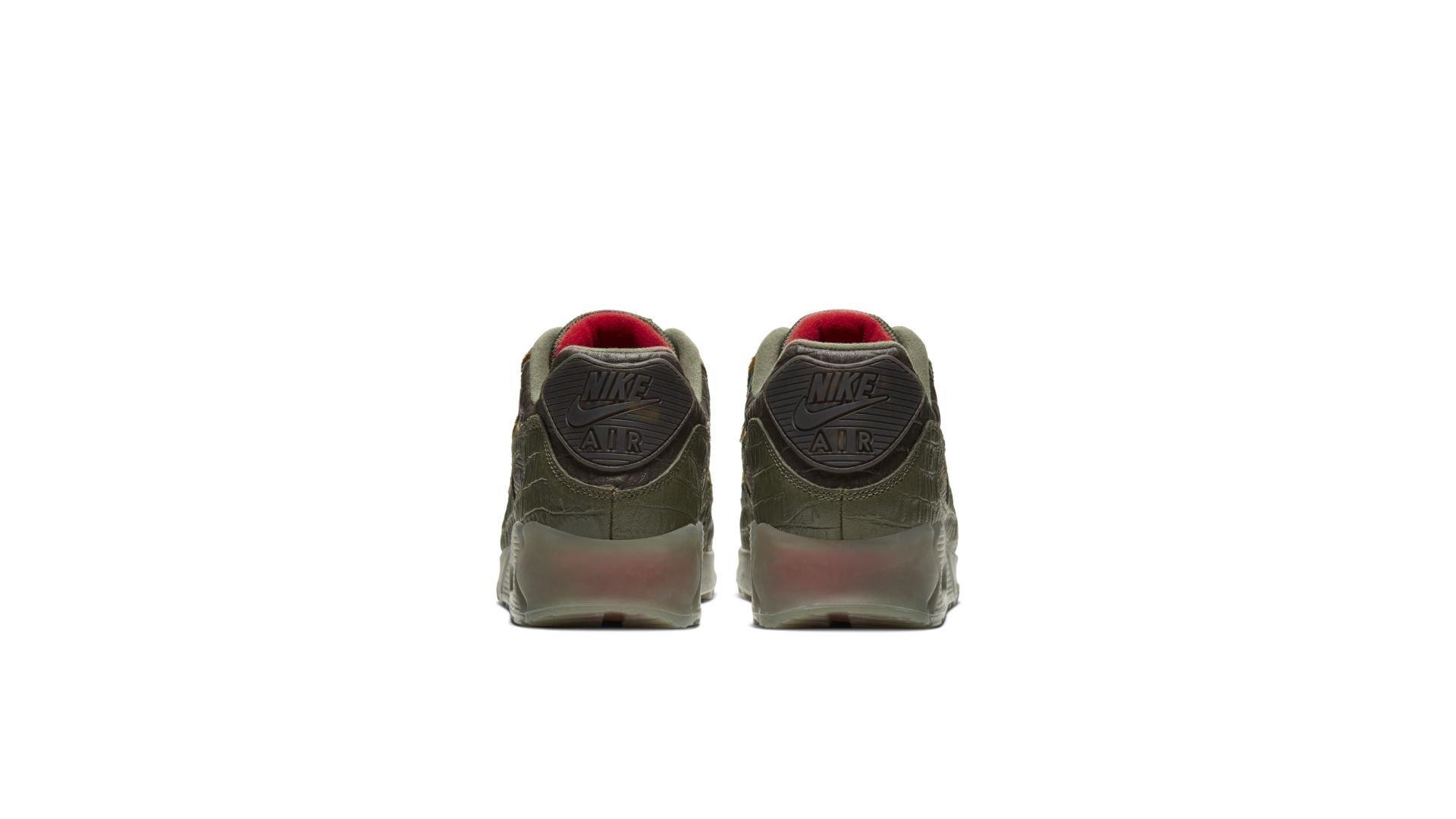 Laatste Nike Air Max 90 Camo Croc 'Cargo Khaki' CU0675 300